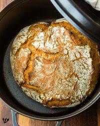 Speedy Old-Vienna No-Knead Bread & Vienna's Best Bakeries (Recipe) #AltwienerHausbrot